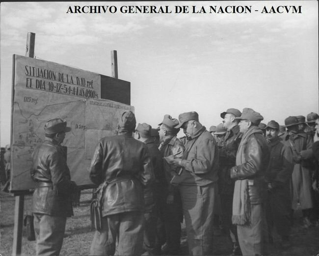 Маневры аргентинской армии