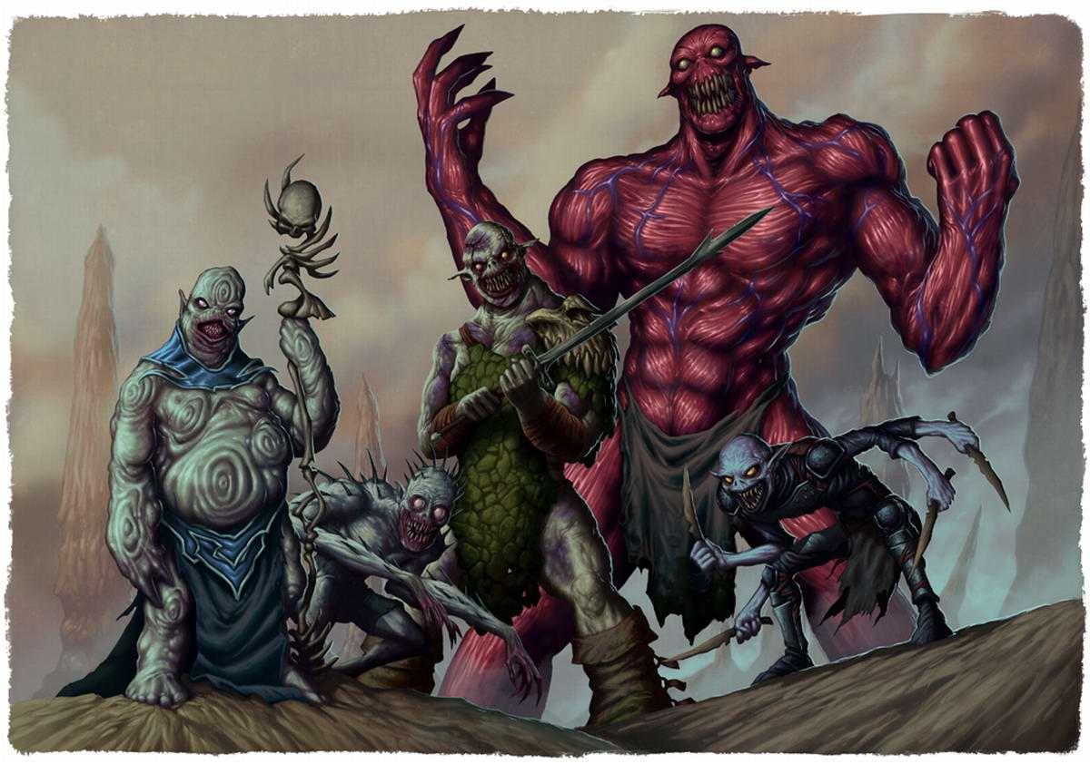 Злобные монстры - Dave Allsop