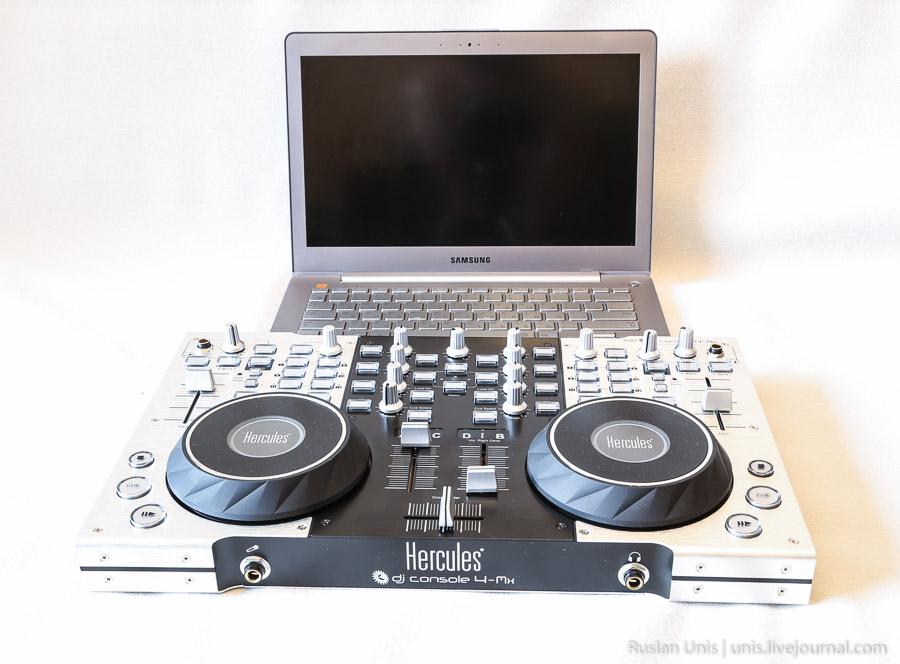 DJ контроллер Hercules
