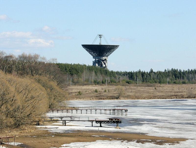 Калязинский радиотелескоп