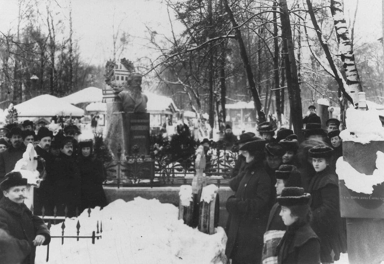 14. Открытие памятника публицисту Н.К.Михайловскому. 1906
