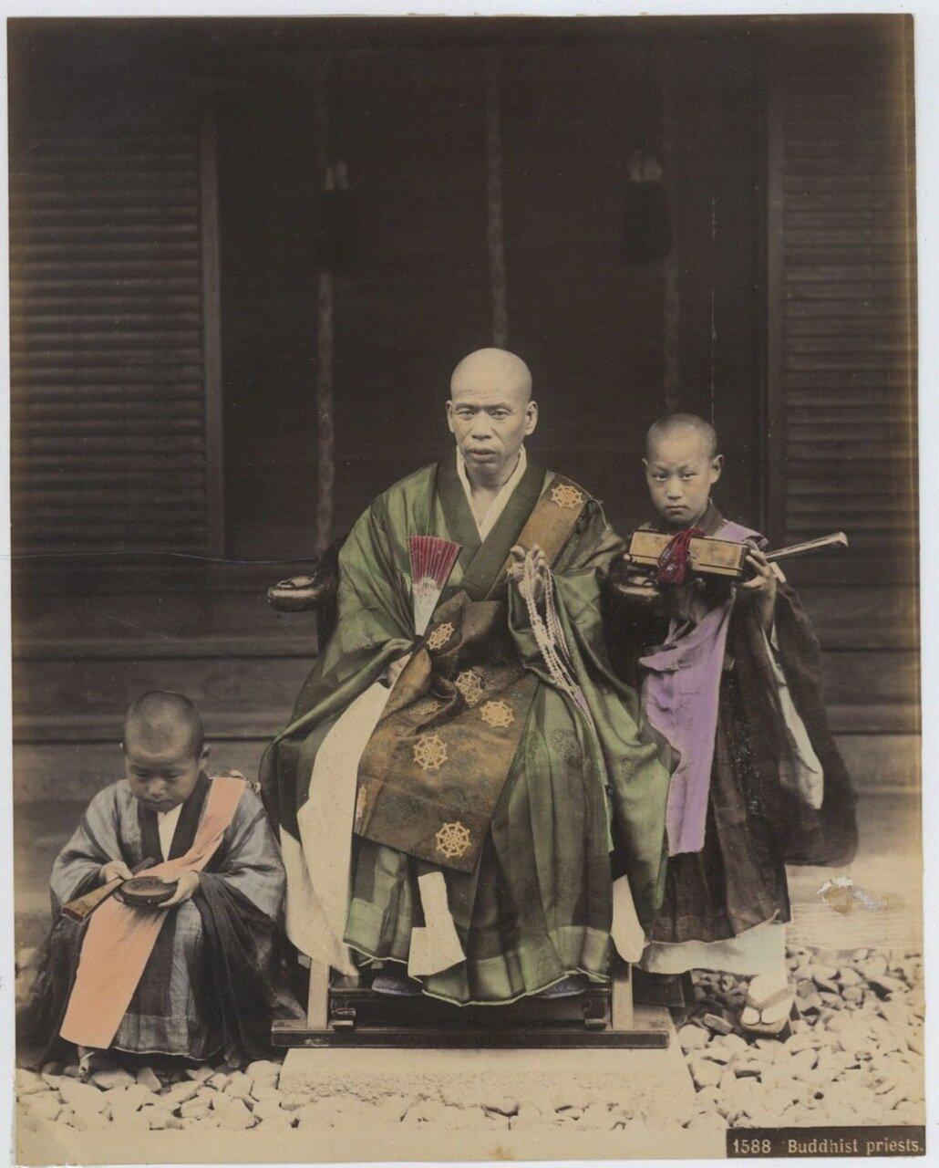 Буддийские священники