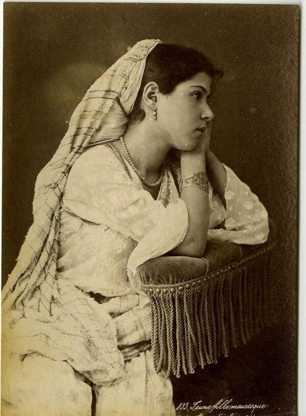 1900-е. Мавританская девушка