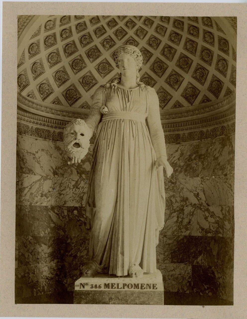 1875. Статуя из Дома Трагического поэта