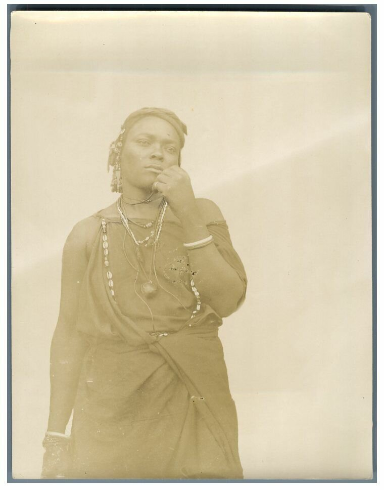 Мавританка. 1895