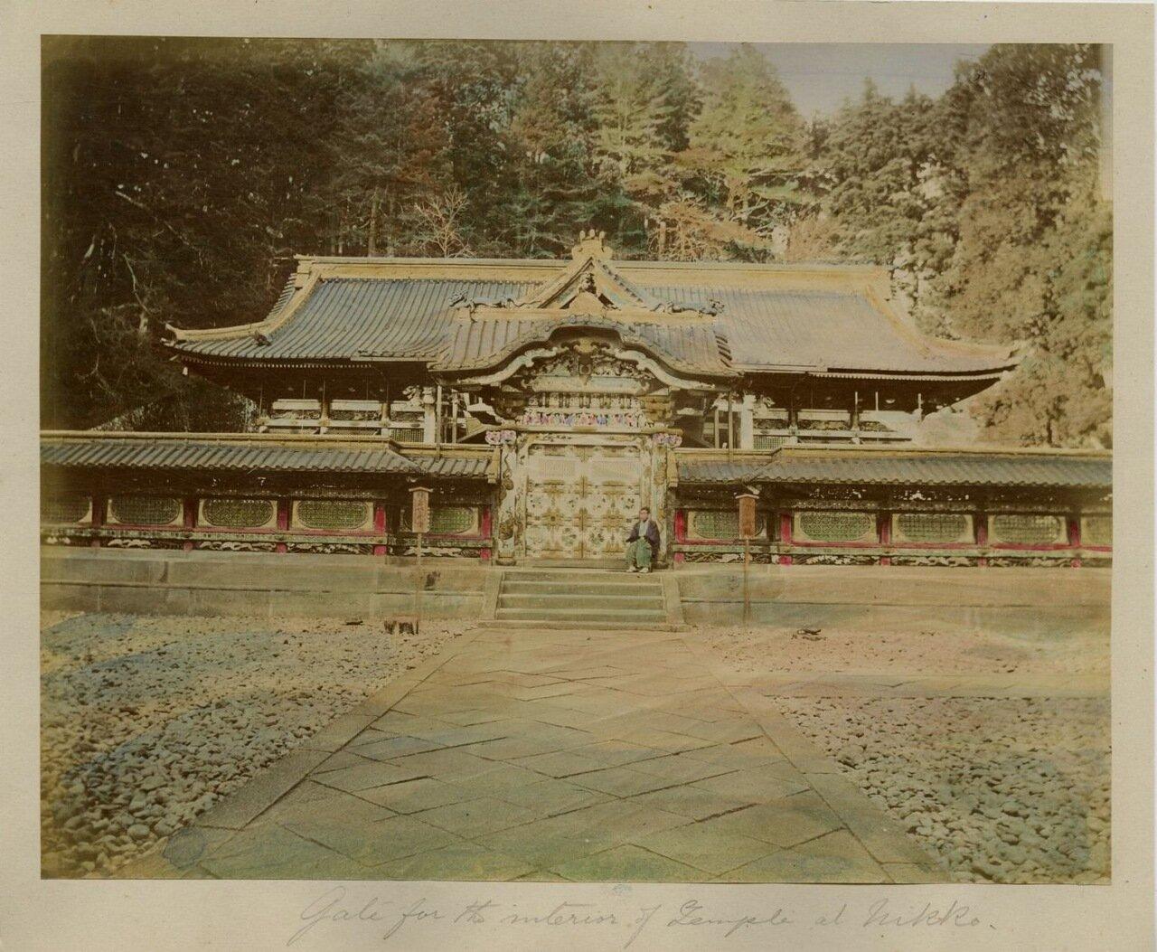 Никко. Храм