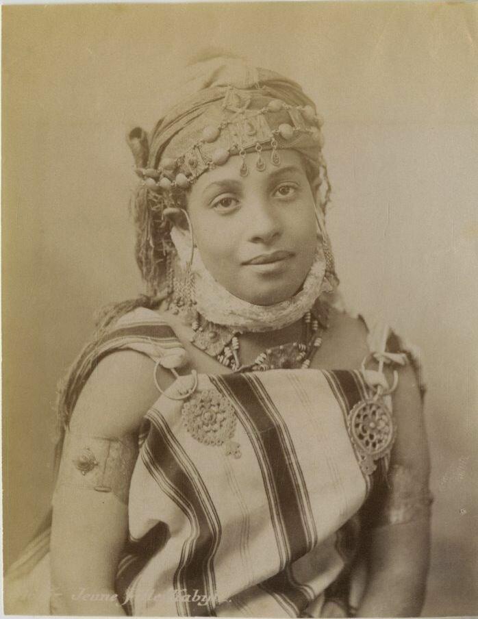 1875. Кабильская девушка.
