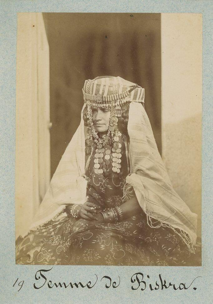 1880. Женщина из Биксры