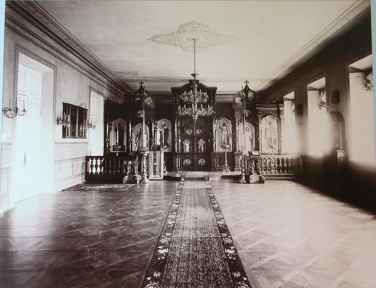 05. Внутренний вид церкви Киевского реального училища