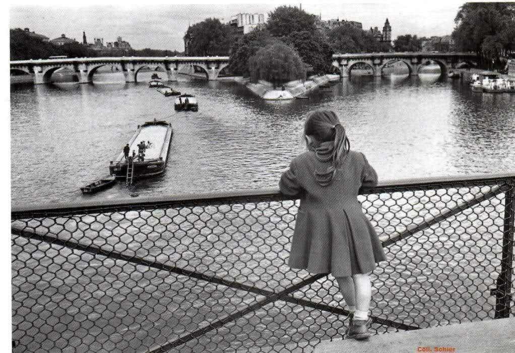 1955. Мост Искусств в Париже