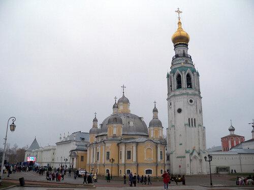 4 ноября 2014. Вологда. Кремлевская площадь