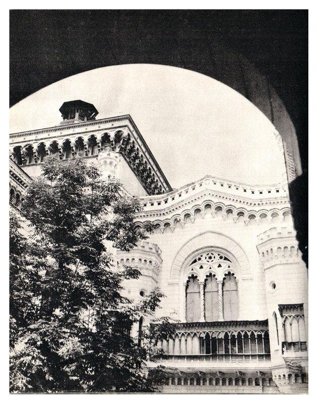 Фрагмент здания филармонии