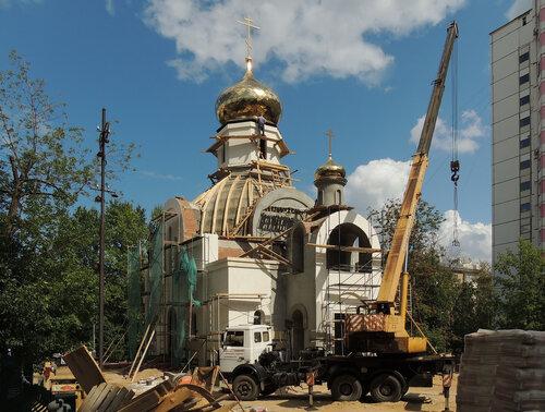 Церковь Царственных Страстотерпцев в Коптеве