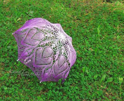 roventa-handmade, crochet, crocheted umbrella, wedding umbrella , вязаный зонт, зонт крючком, ажурный зонт, свадебный зонт, свадьба, невеста, аксессуары для фотосессий, аксессуары для свадьбы, Красноярск