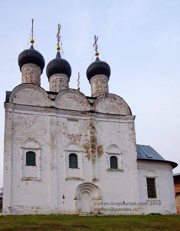 Никольский собор, 1681 г. Зарайский кремль