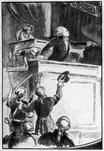 Е.И.Коган. «Робеспьер на трибуне»