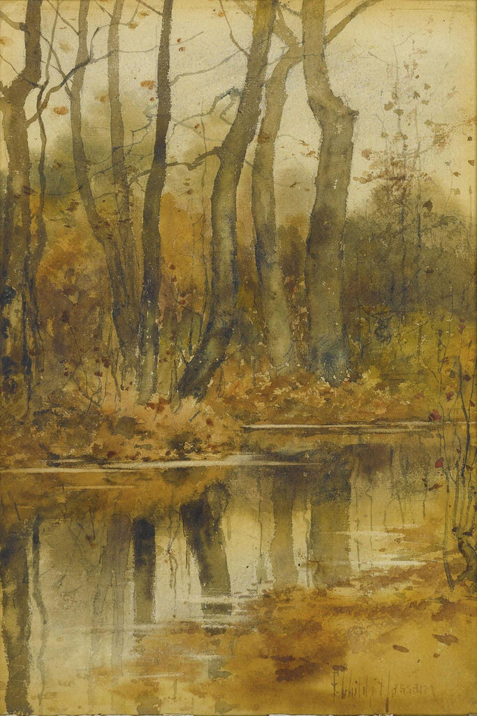 Frederick Childe Hassam - Stream in the Woods.jpeg