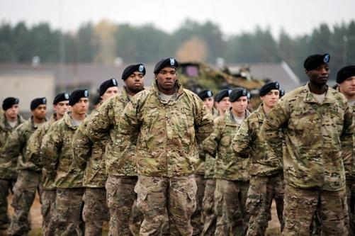кавалеристы США в Адажи