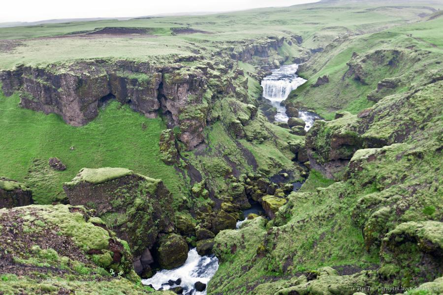 19. Ледники и водопады Эйяфьядлайокудля.
