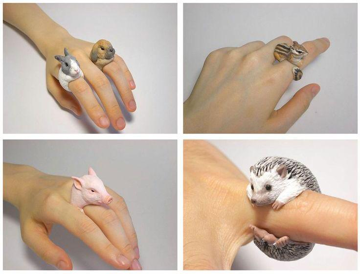 кольца животные