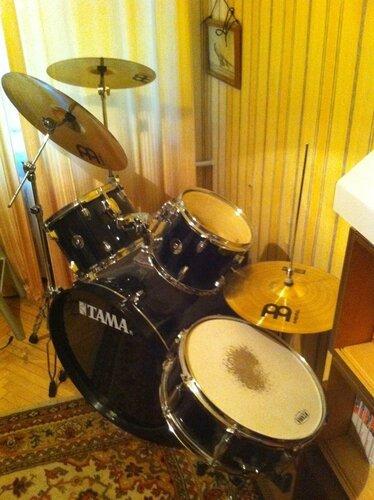 Продаётся барабанная установка TAMA(модель: S52kh6)