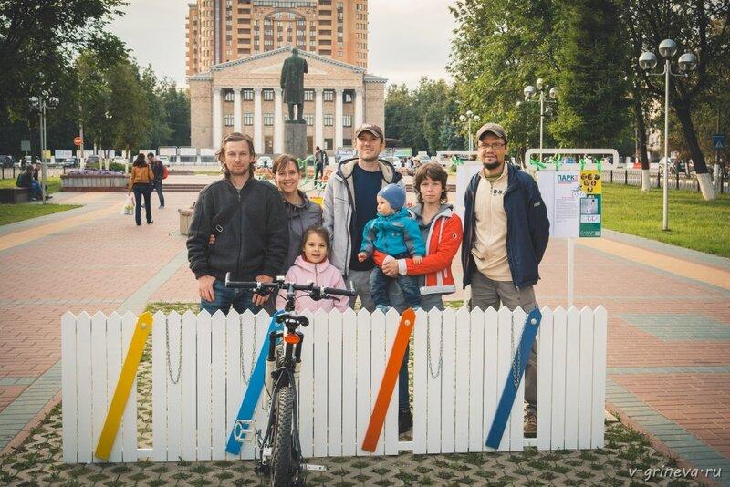 """велопарковка от фотоклуба """"ДВОР"""""""