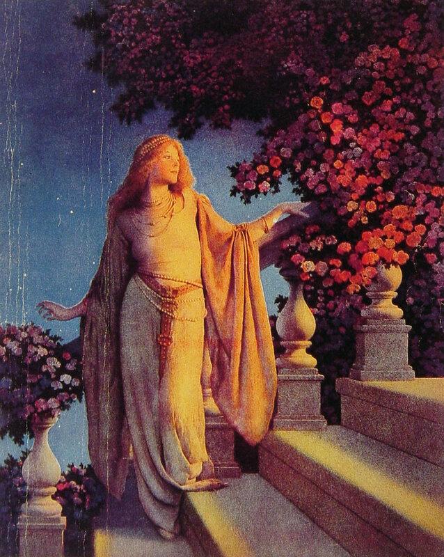 Английский художник Maxfield Parrish,Сэр Фредерик лорд Лейтон