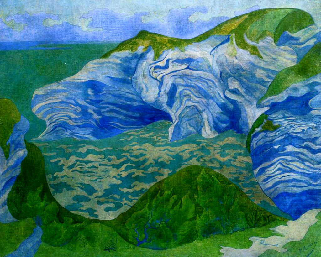 Paul Ranson - The Blue Cliffs, 1891.jpeg