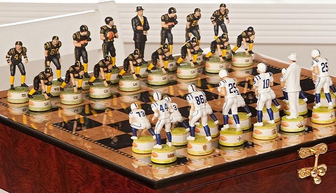 шахматы – американский футбол