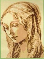 Журнал Образ-портрет  (вышивка крестом)