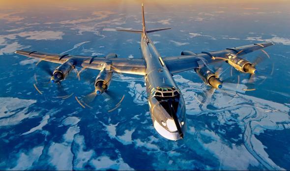 Вооруженные силы США боятся русских бомбардировщиков