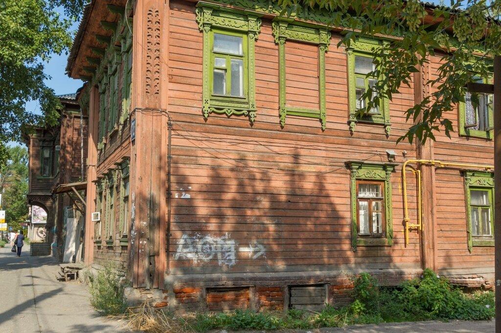Деревянный дом по Большой Печерской улице, Нижний Новгород