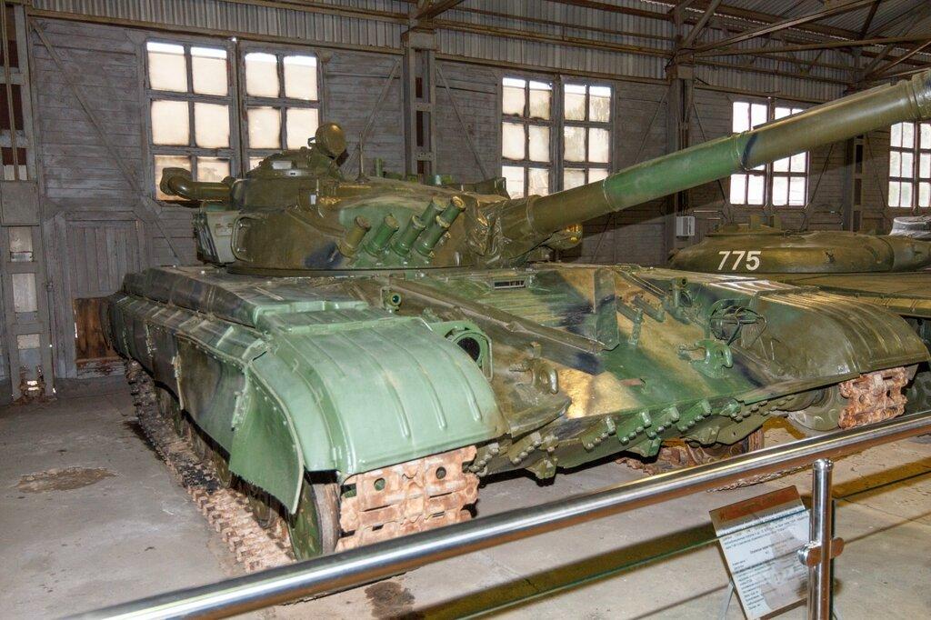 ОБТ - Предсерийный вариант Т-72, Кубинка