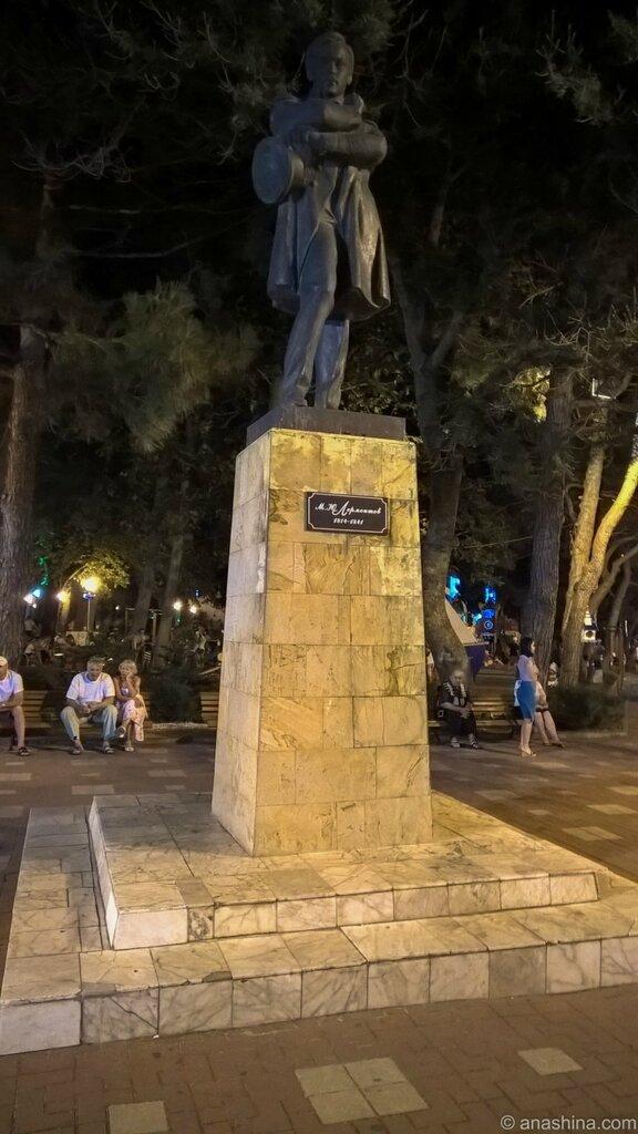 Памятник Лермонтову, Геленджик