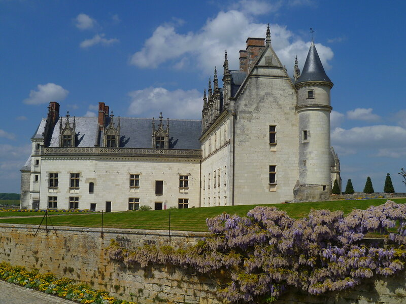 Франция, замок Амбуаз (France, castle in Amboise)