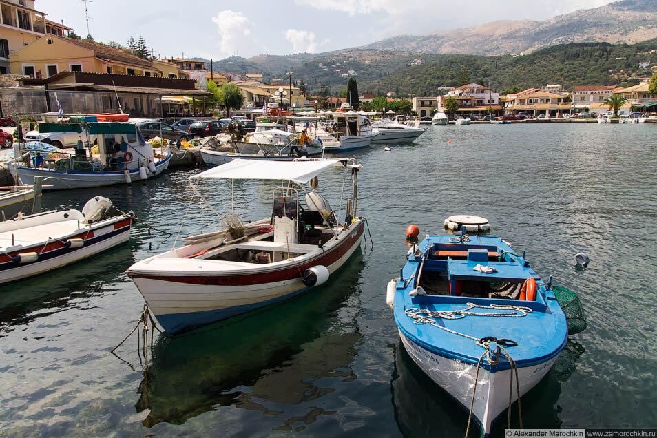 Кассиопи (Корфу). Лодочная стоянка