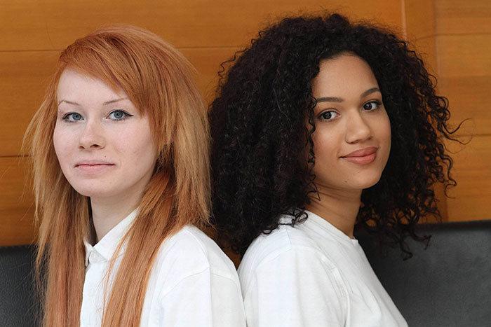 Что может роднить этих двух девушек?
