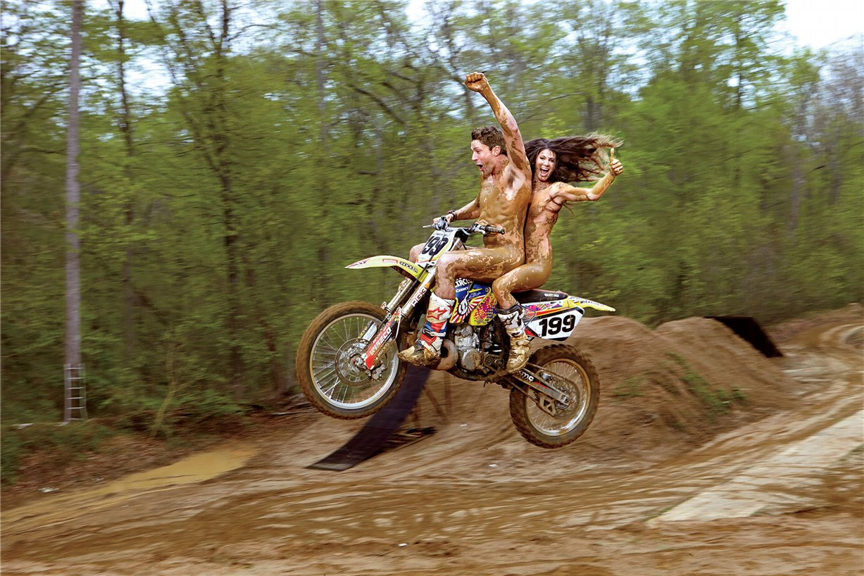 ESPN Magazine Body Issue 2014 - Lyn-Z & Travis Pastrana / Линзи и Трэвис Пастрана