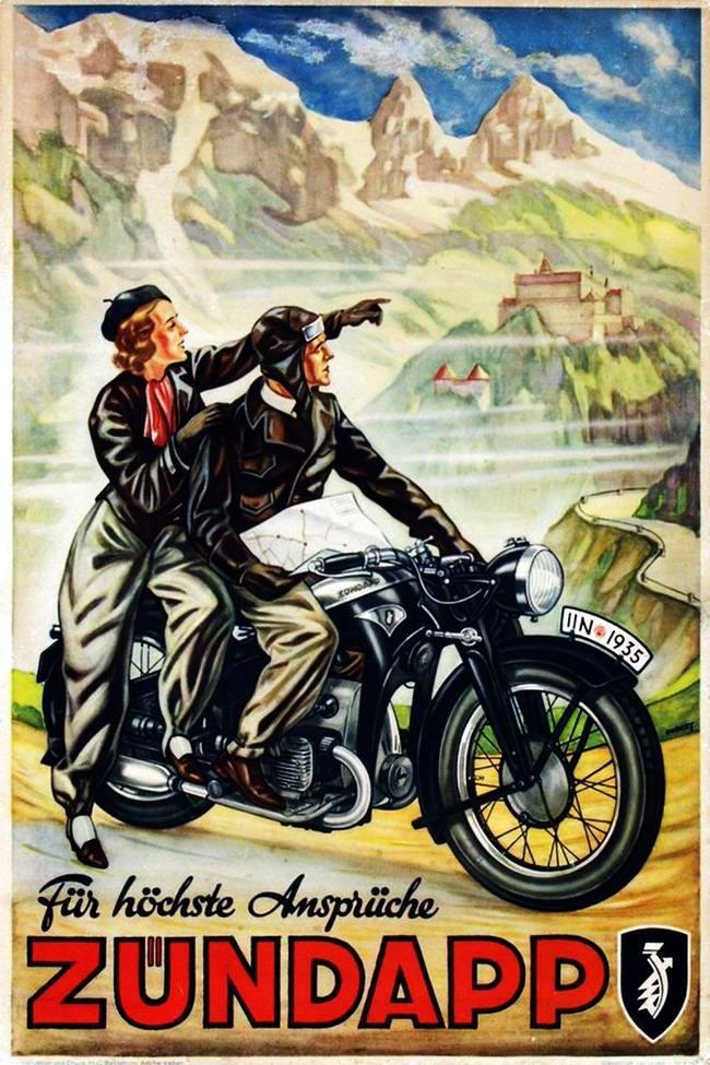 Zundapp - Германия (1935 год)
