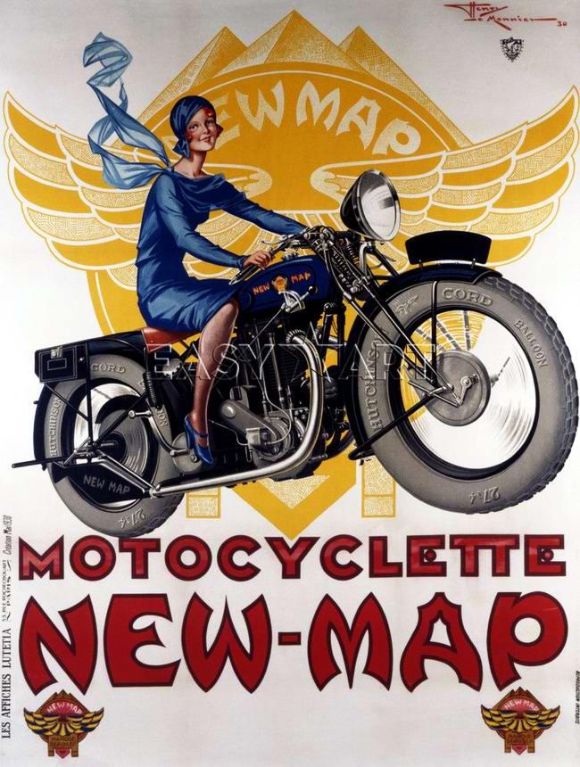 New-Map - Франция (1938 год)