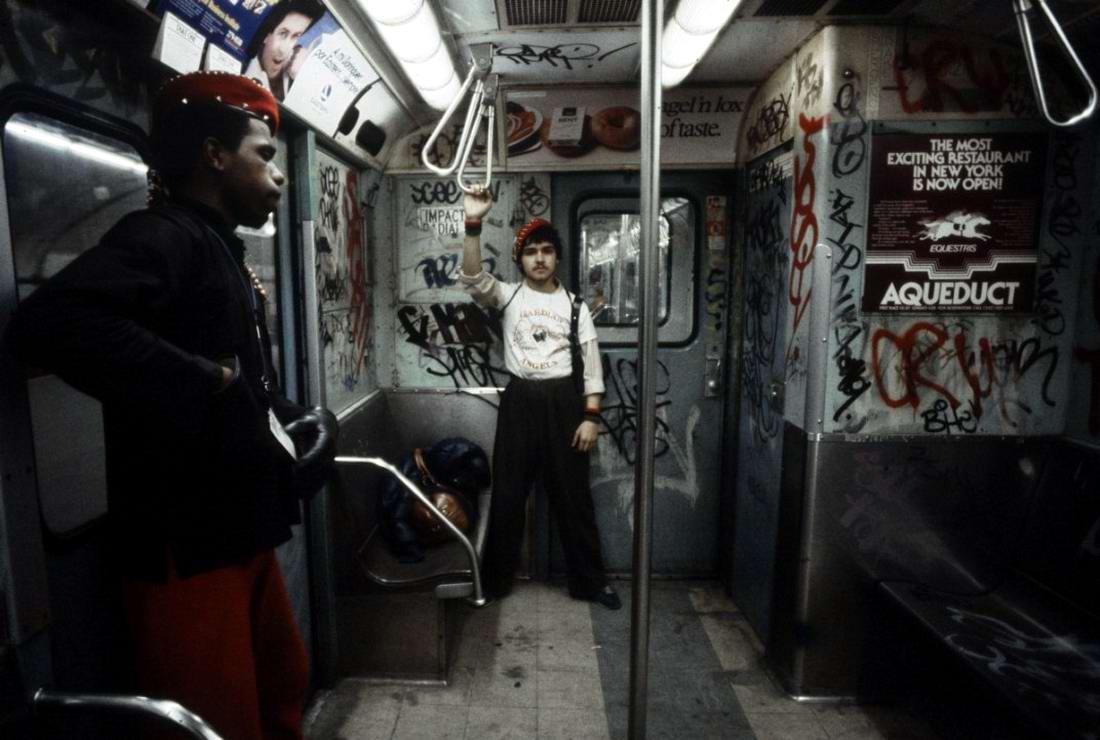 Американский фотограф Christopher Morris: Граффити и андеграунд нью-йоркского метро (1)