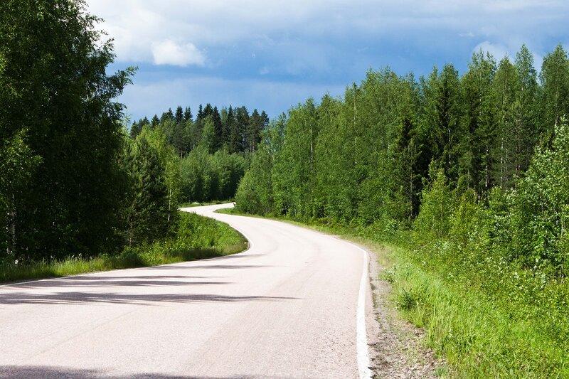 дорога 446 Кангасниеми - станция Хакасалми (Kangasniemi - Hankasalmen Asema)