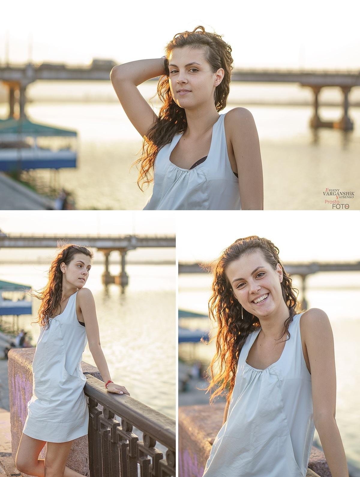 Прогулка по набережной: Марина