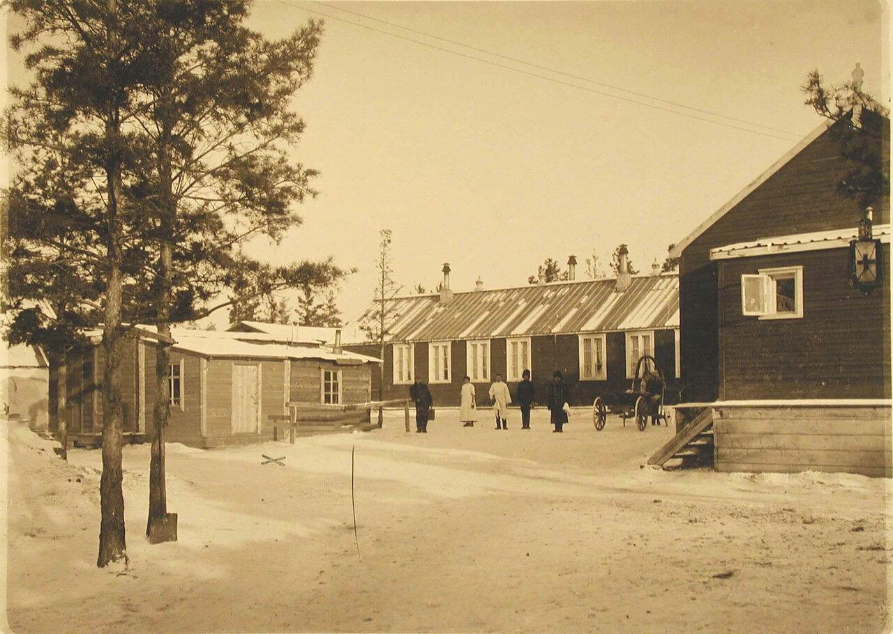 18.  Вид здания, где располагался рентгеновский кабинет старого лазарета