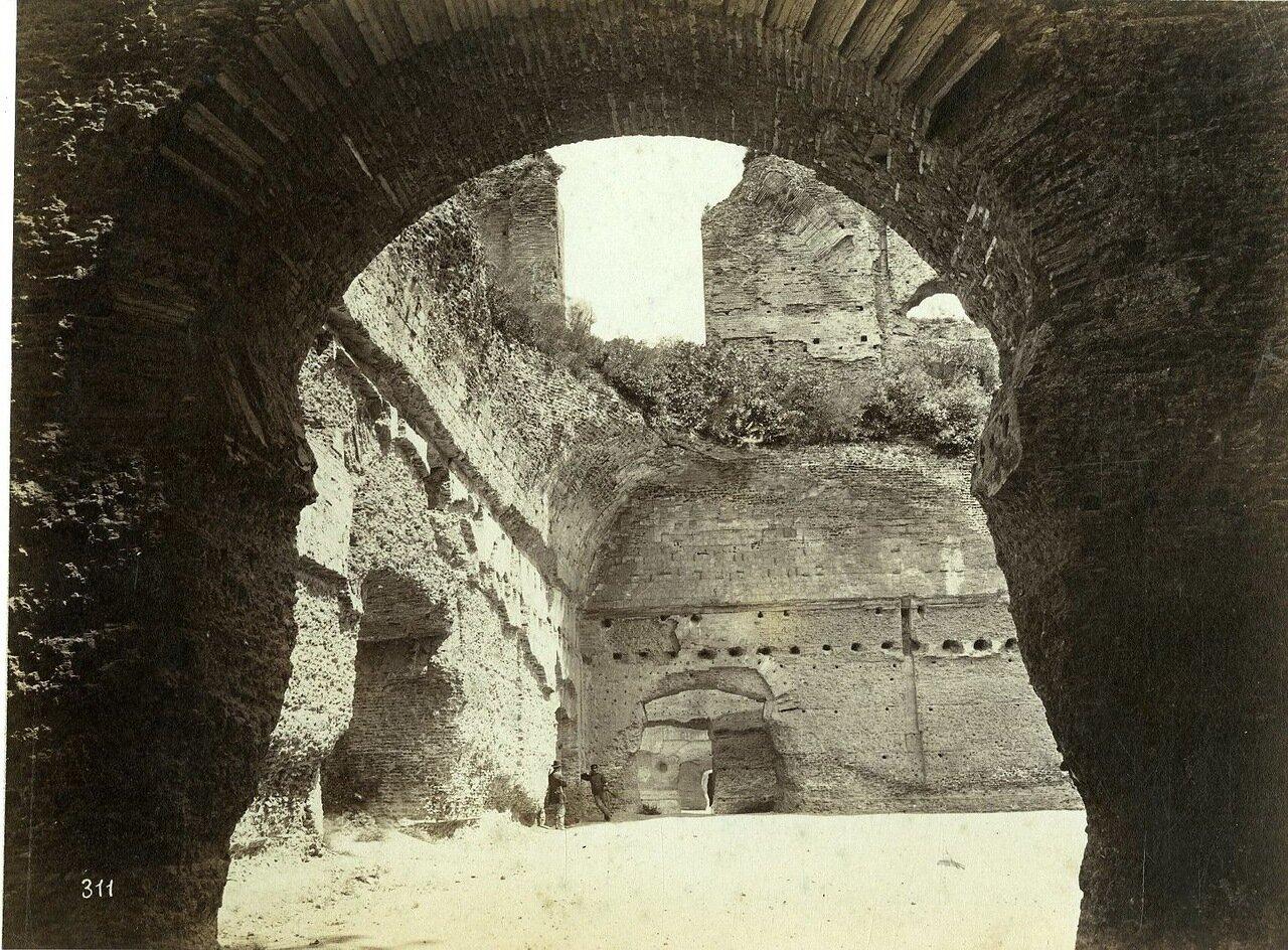 Термы Каракаллы. 1880.