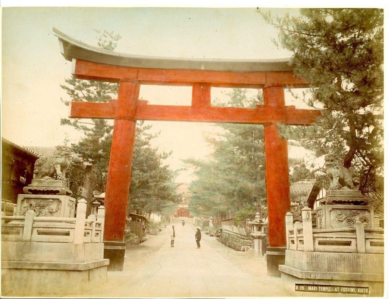 Киото. Храм Инари в Фусими