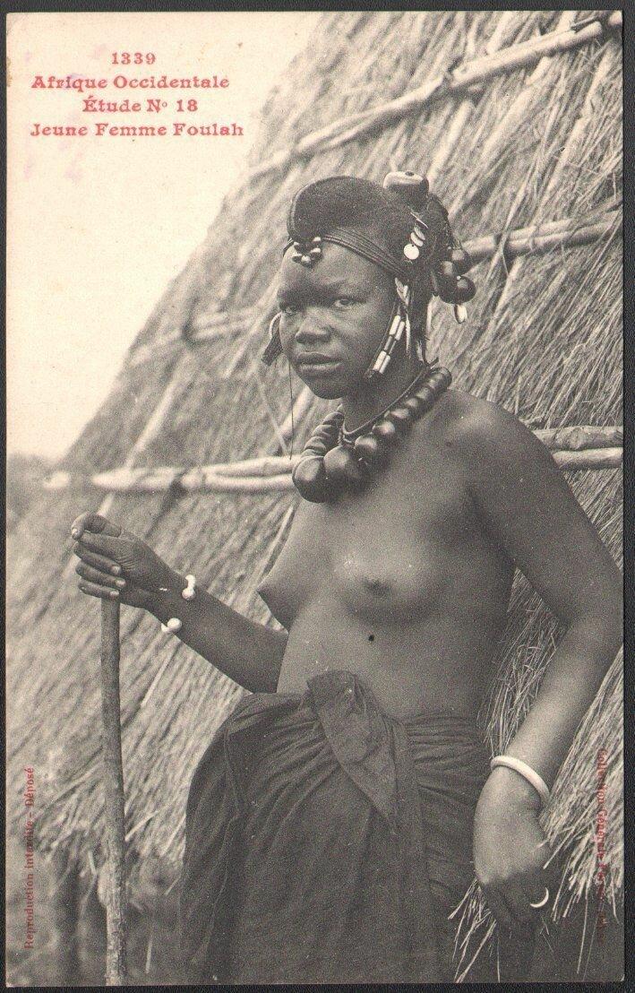 1339. Женщина народа фула