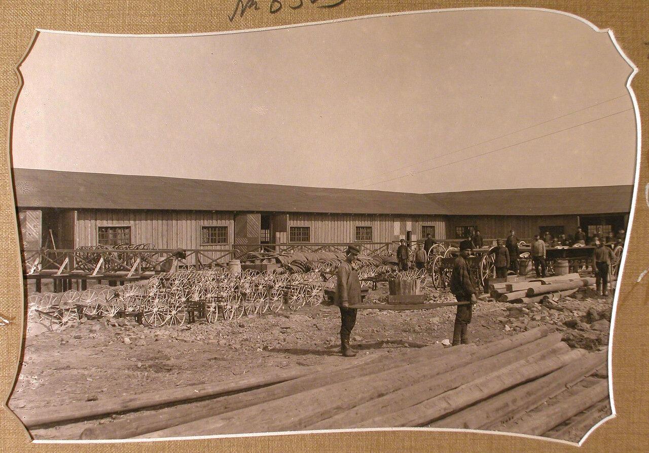 Вид территории Мариинского машиностроительного завода