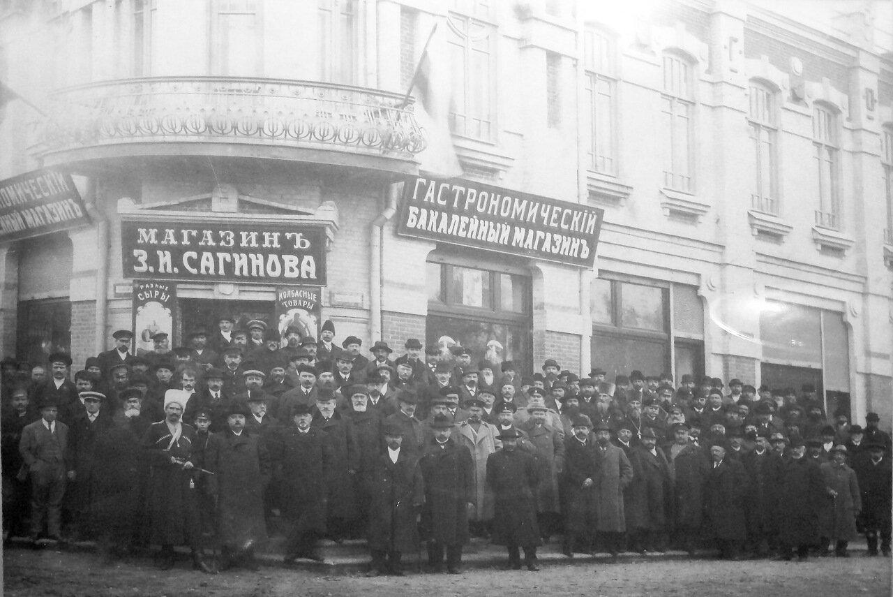Здание Георгиевского общества взаимного кредита, 1912
