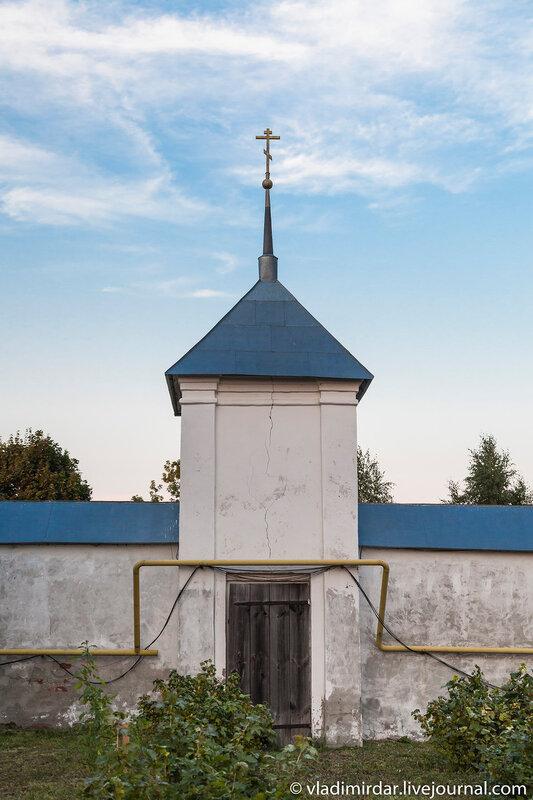 Сторожевая башня Васильевского монастыря